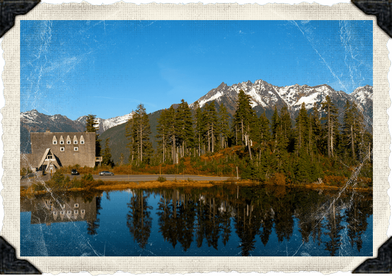 Mountain backdrop at The Firs Chalet