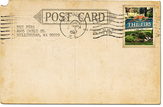 The Firs Postcard